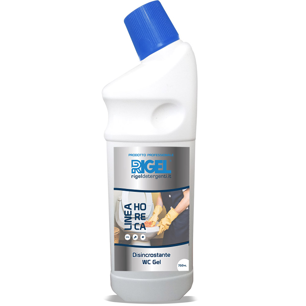 DISINCROSTANTE GEL 2X5LITRI - Profumato formulato per rimuovere rapidamente lo sporco più ostinato