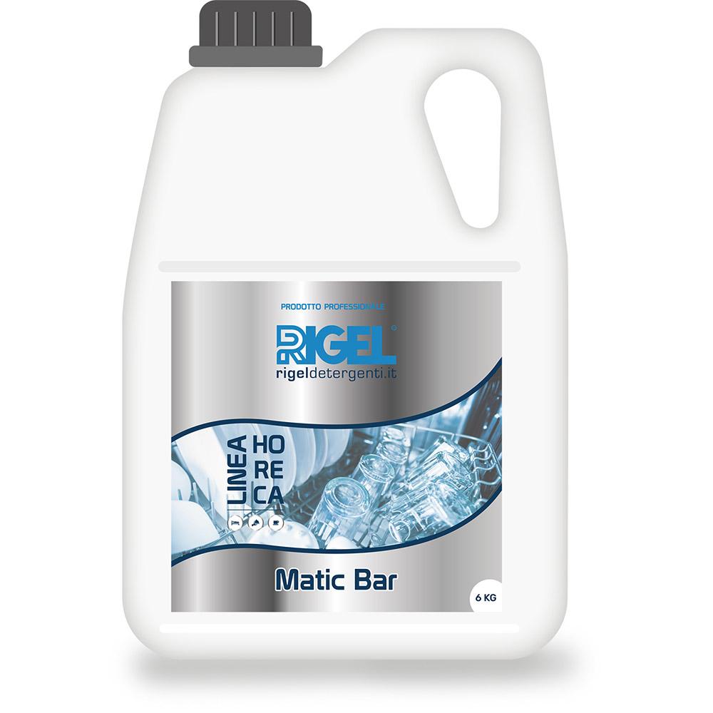 MATIC BAR 2x6 Kg - Detergente liquido concentrato di impiego generale per macchine lavastoviglie